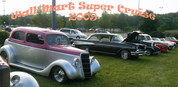Kingsport Antique And Rod Club Wal Mart Supercruise 2005